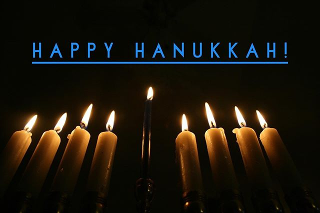 Wishes of Happy Hanukkah to all those celebrating!