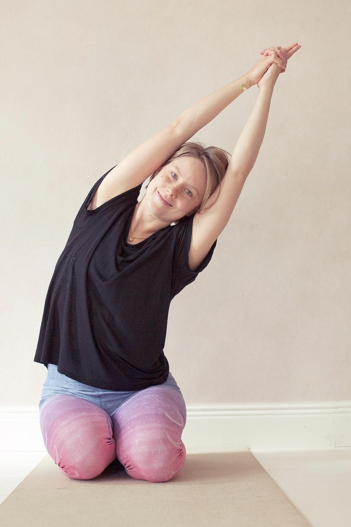 ANNA MUSTONEN   Heartful-jooga, intensiiviryhmän ohjaus