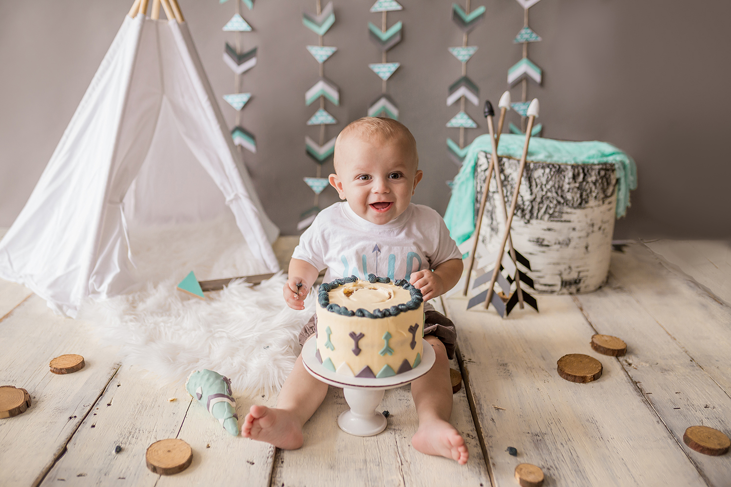 Sweet Snaps Photography - Northern Indiana Cake Smash Photographer.jpg