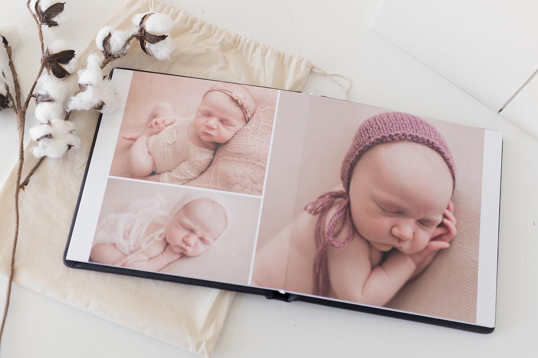 Sweet Snaps Photography Northwest Indiana Newborn Photography Heirloom Album.jpg