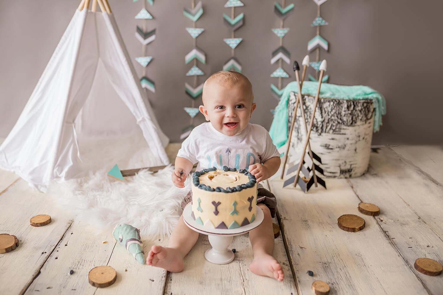 Sweet Snaps Photography - Lake County Indiana First Birthday Photographer