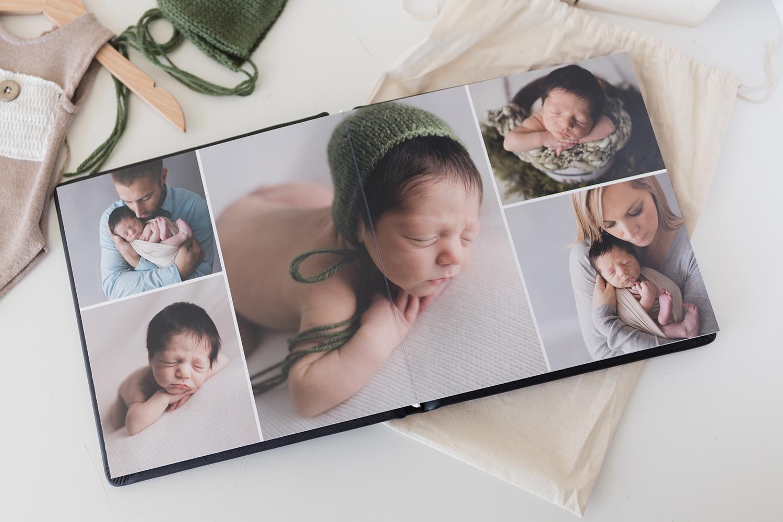 Sweet Snaps Photography Northwest Indiana Newborn Photography Album