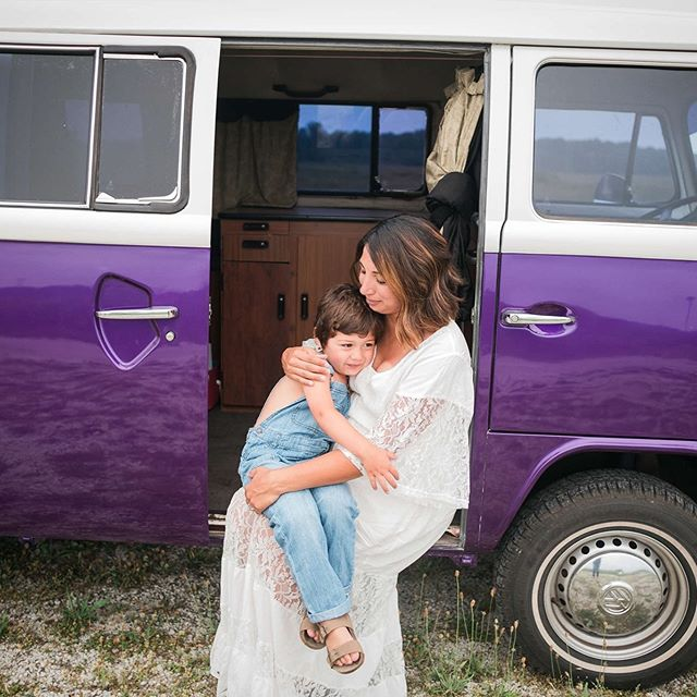 This mama and her child were a joy to be around. Her parenting style was so laid back, caring and loving. The bond the 2 of them share was such fun to watch.  One of the coolest things about working with families and getting to know them, is learning about their history. The #VWvan pictured here was a project that this mama and her own father worked on years prior. You could just tell this was something she was proud of.  When you work with a photographer, you add another family member, and I just adore getting to know all of the families I have the honor of photographing.