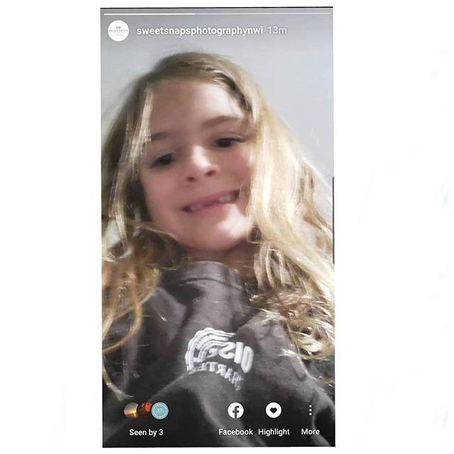 When your 5 year old posts a selfie on your instagram and facebook business stories... 😮😂🤣😭🙈🙃 Can't even be mad. 🤷♀️🤣 #workingmoms #wahmlife #bedtimestories #5yearolds #shescutetho #futureinfluencer #motherhood #preschoolers #kids #funnygirl #thankskid #kidselfie #phonethief #saycheese #preschoolstyle #socialbutterfly #toosmart #sneaky #thisismotherhood #wahm #familybusiness #nwi #workfromhome #mynewassistant