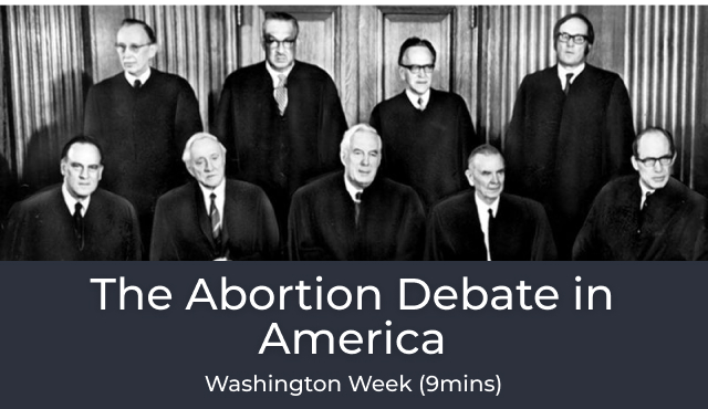 The Abortion Debate in America