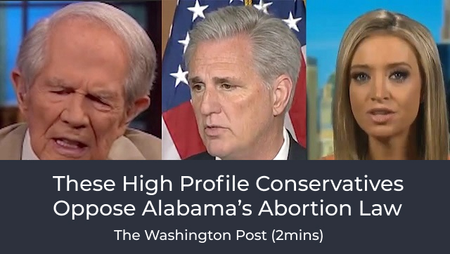 These High Profile Conservatives Oppose Alabama's Abortion Law