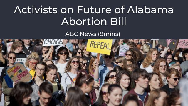 Future of alabama abortion bill