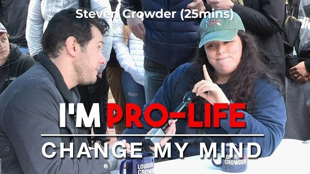 I'm Pro-Life, Change My Mind
