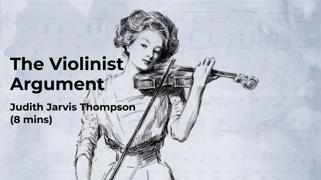 The Violinist Argument