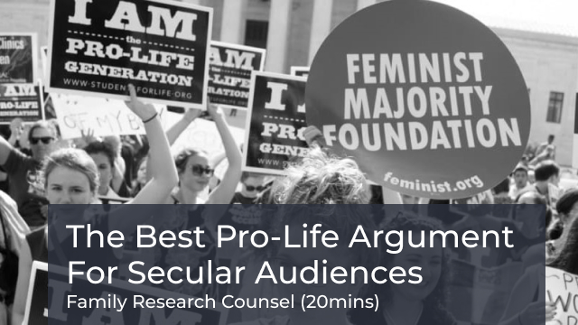 The Best Pro-Life Arguments for Secular Audiences