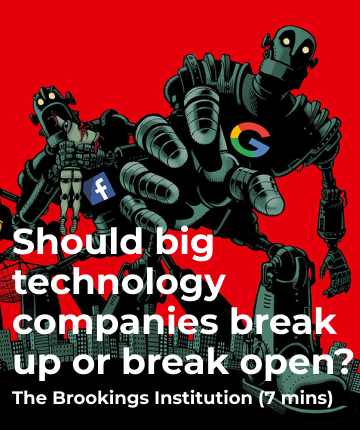 Should big technology companies break up or break open?