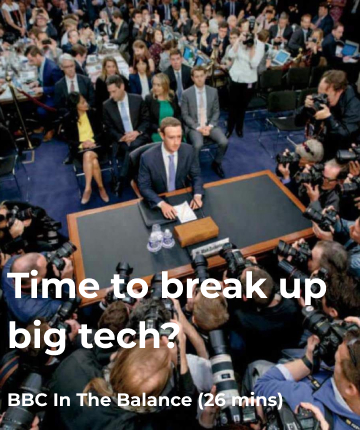 Time to break up big tech?