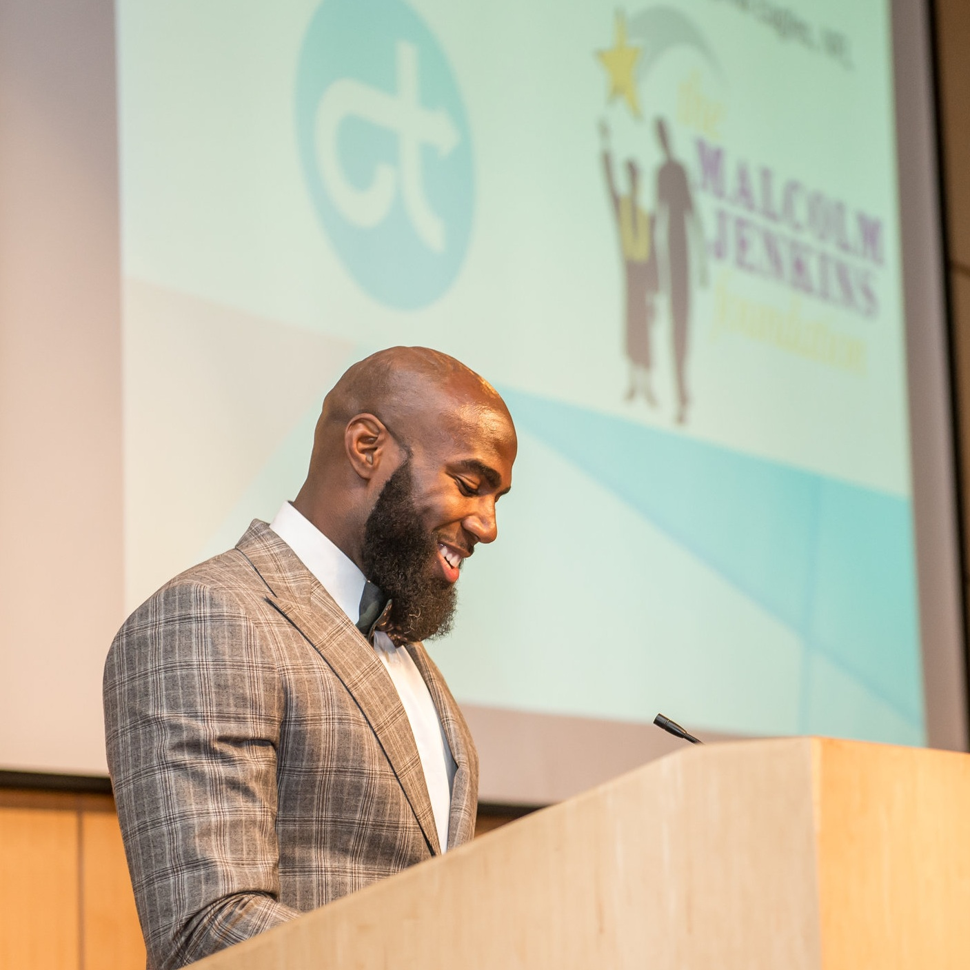 Too often… - … bright and ambitious students slip through the cracks, unable to continue their academic career due to financial roadblocks. The Malcolm Jenkins Foundation is working to close that gap.