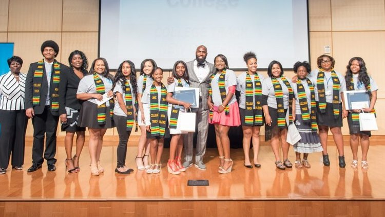 The Malcolm Jenkins Project REWARDS Scholarships are awarded annually to help deserving youth, in pursuit of higher learning, with the financial assistance to attend an accredited college or university.