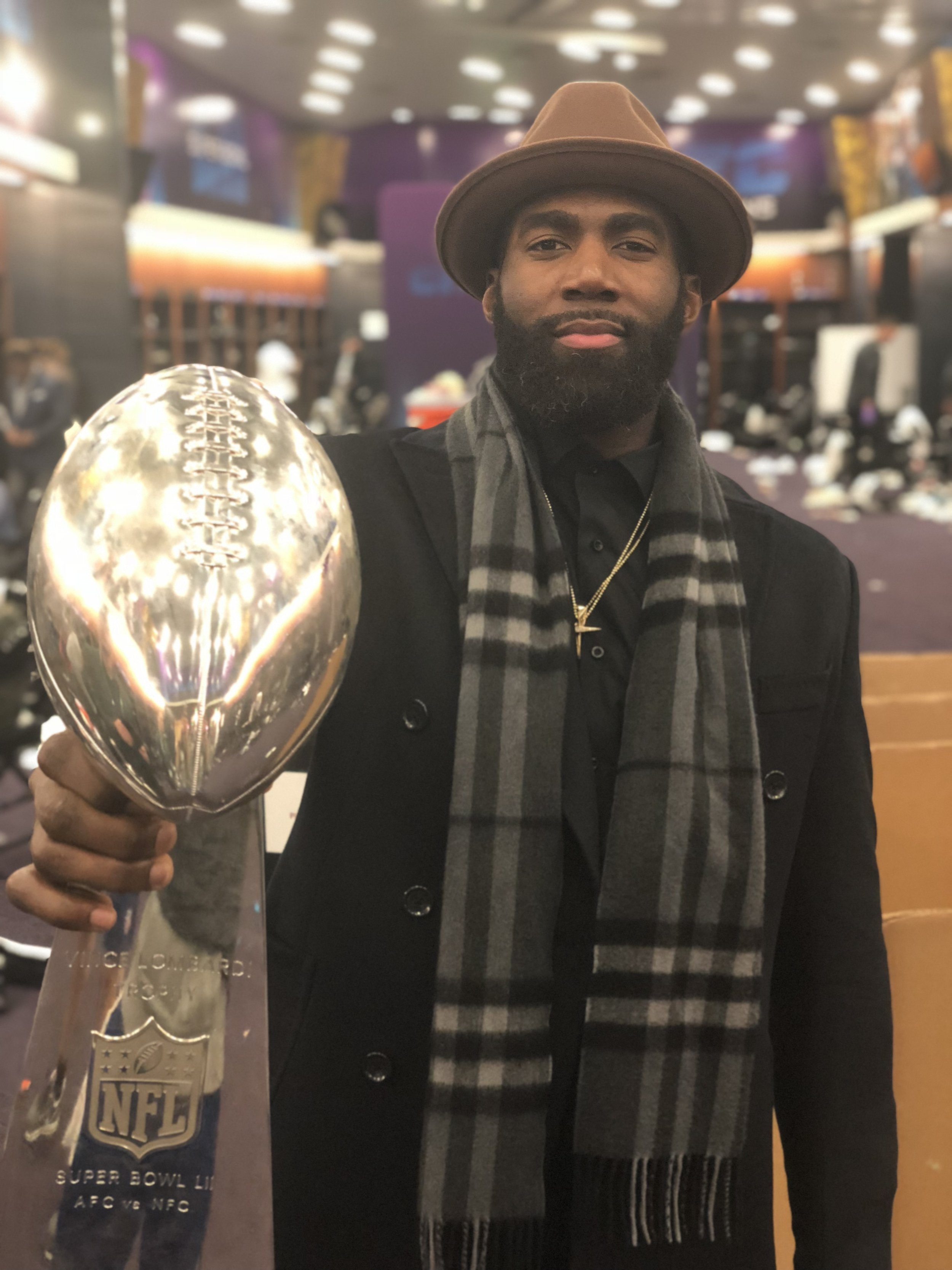 SUPERBOWL CHAMPION - The Eagles defeated the New England Patriots in Super Bowl LII 41-33 to give Jenkins his second Super Bowl championship and first Super Bowl championship with the Eagles. Jenkins recorded 4 tackles and 1 pass defended.