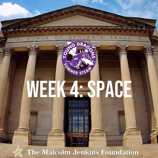 After a long Holiday Weekend, our campers are ready for an experience outta this world! Week 4 of our #STEAMDragons summer camp is all about space! And best of all, this week of learning will culminate with a trip to everyone's favorite, @franklininstitute! Stay tuned to our stories to see what our campers and the @drexelexcite team get into! #YoungDragons #SummerSTEAM @drexeluniv #TMJF