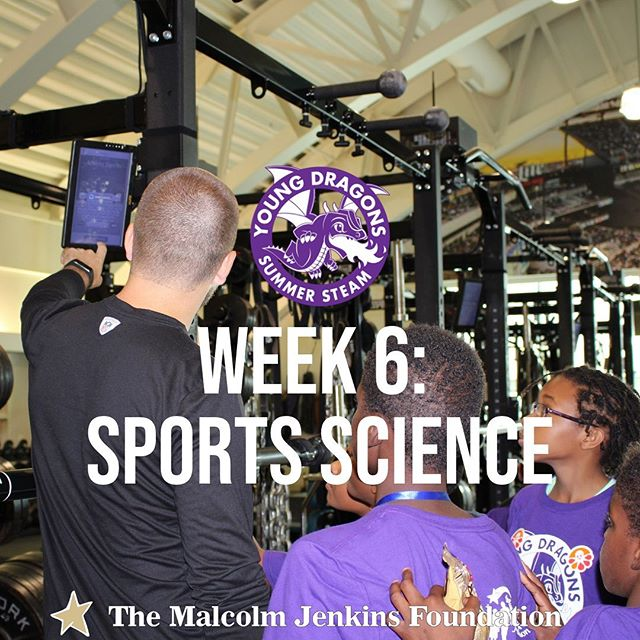 Our #YoungDragons are ready to run faster, jump higher, and learn all there is to know about the growing world of Sports Science! In the final week of Summer STEAM, our  campers will get a first-hand look at the data behind athlete performance and how to use it to improve each and every day! #TMJF #STEAMdragons @drexelexcite . . . . . . . #Science #Technology #Engineering #Arts #Athletics #Mathmatics #Sports #SportsScience #Athlete #Performance #Skills #Improvement #Learning #SummerCamp #LearningIsFun #Philadelphia #Philly #WestPhilly #PromiseZone #Drexel #DrexelUniversity