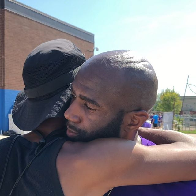 Who do we do it for? It's all about the people...the community...and sometimes, the Mayor of West Philly! 🤷🏾‍♂️ #TMJF #GetReadyFest @malcolmjenkins27 . . . . . #fbf #WestPhilly #Philly #Philadelphia #ThePeople #PeopleHelpingPeople #GivingBack #Underserved #Community #Caring #Compassion #Service #MakingADifference #Impact #MakingAnImpact #Touched #Emotion #Happiness #Thankful