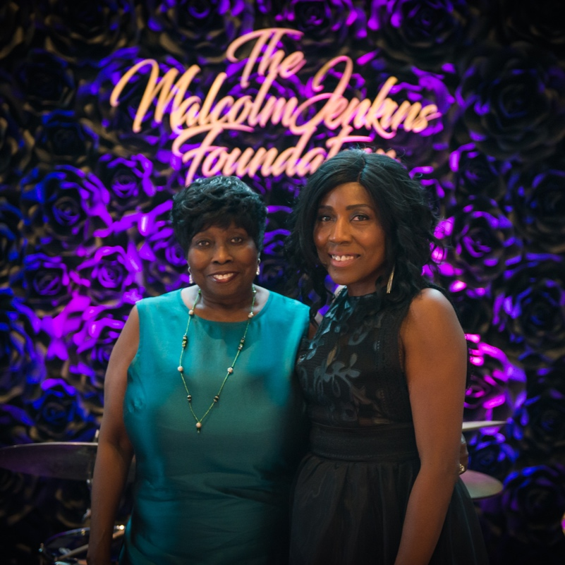 Left to right: Loyce Pierce Wright, TMJF Board Treasurer and Gwendolyn V. Jenkins, TMJF President & CEO