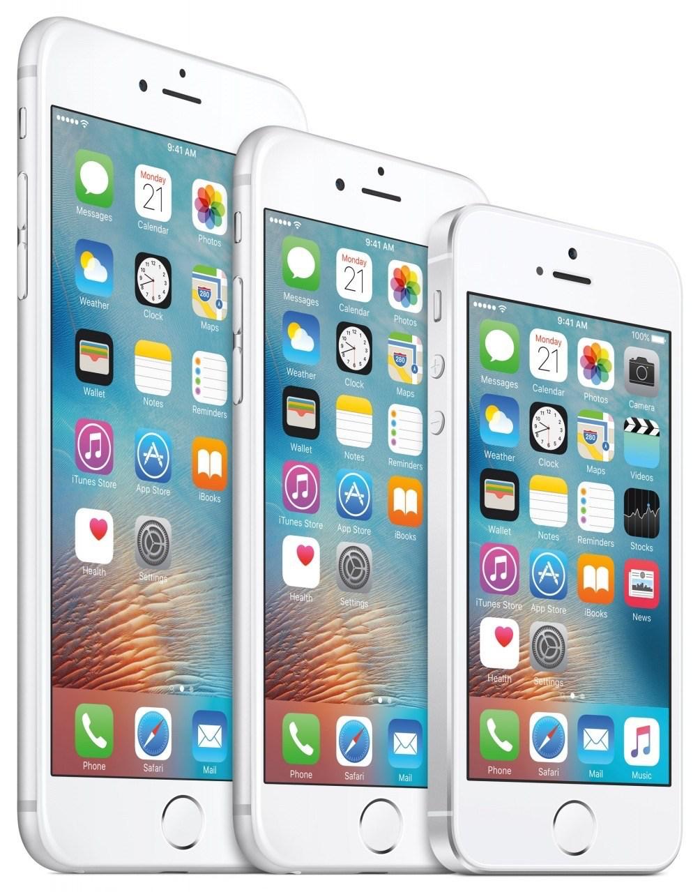 iphone se size comparison