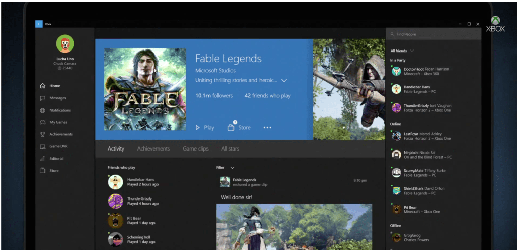 New Experiences for Xbox One