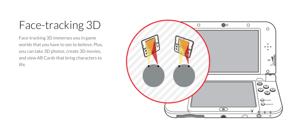 nintendo 3ds face tracking