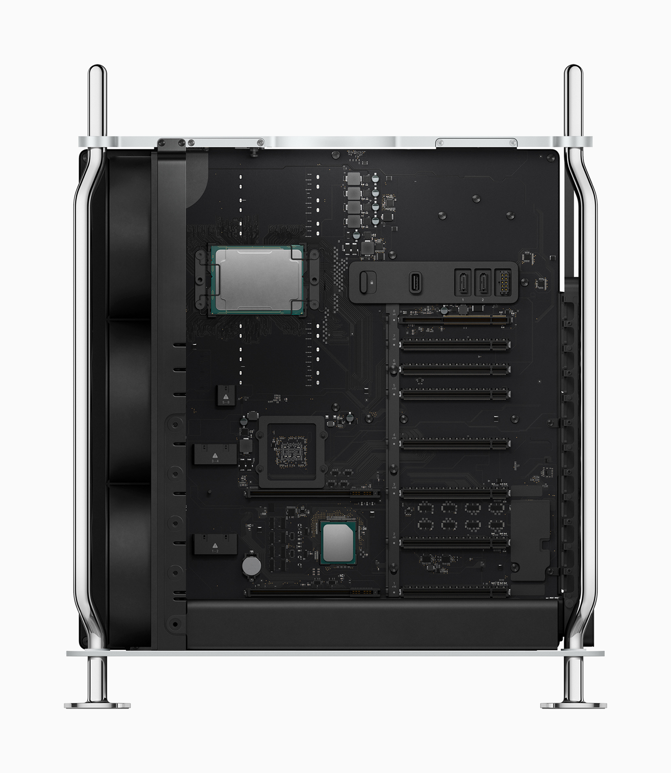 Mac Pro features powerful Xeon processors up to 28 cores