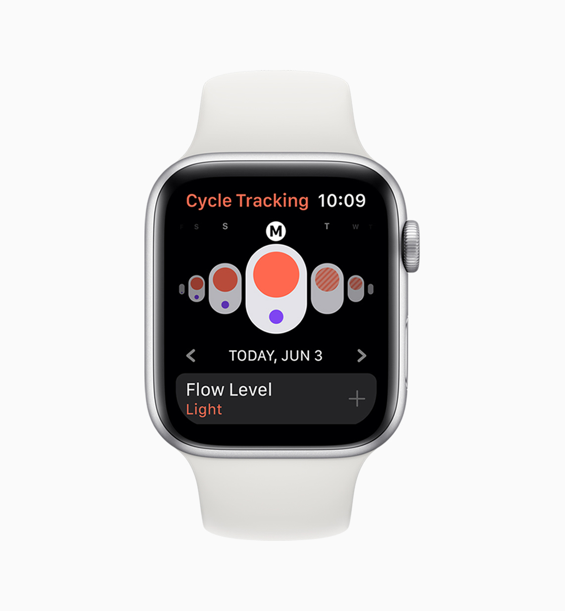 cycle tracking Apple Watch