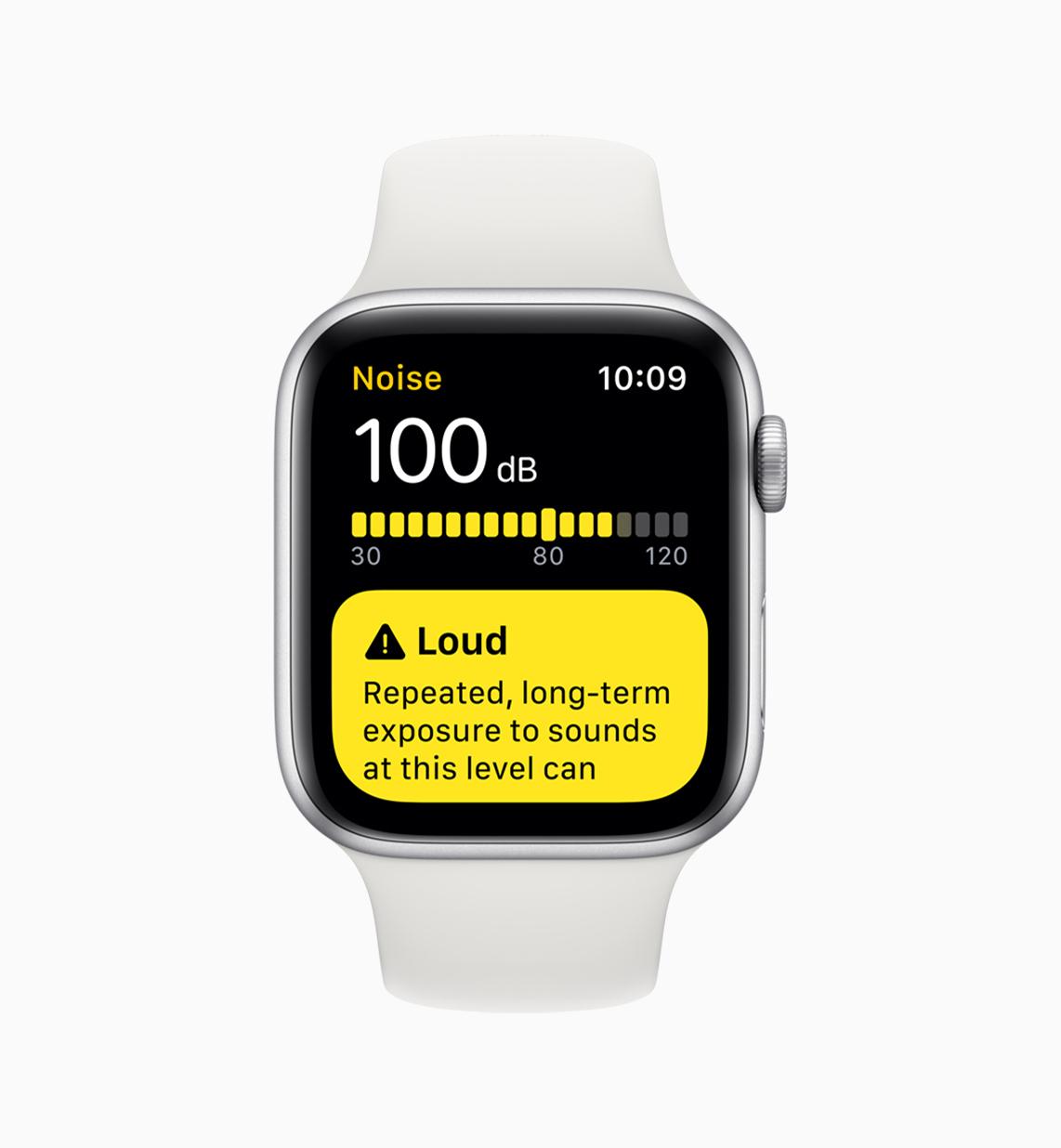 noise app on Apple Watch