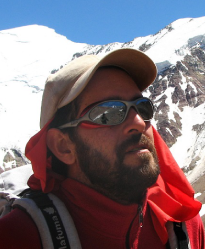 """Eduardo """"Edu"""" Unzueta - Educated as an engineer, Edu decided to follow his dream and moved from the vibrant city of Cochabamba to the mountaineering center of Bolivia, La Paz.LEARN MORE"""