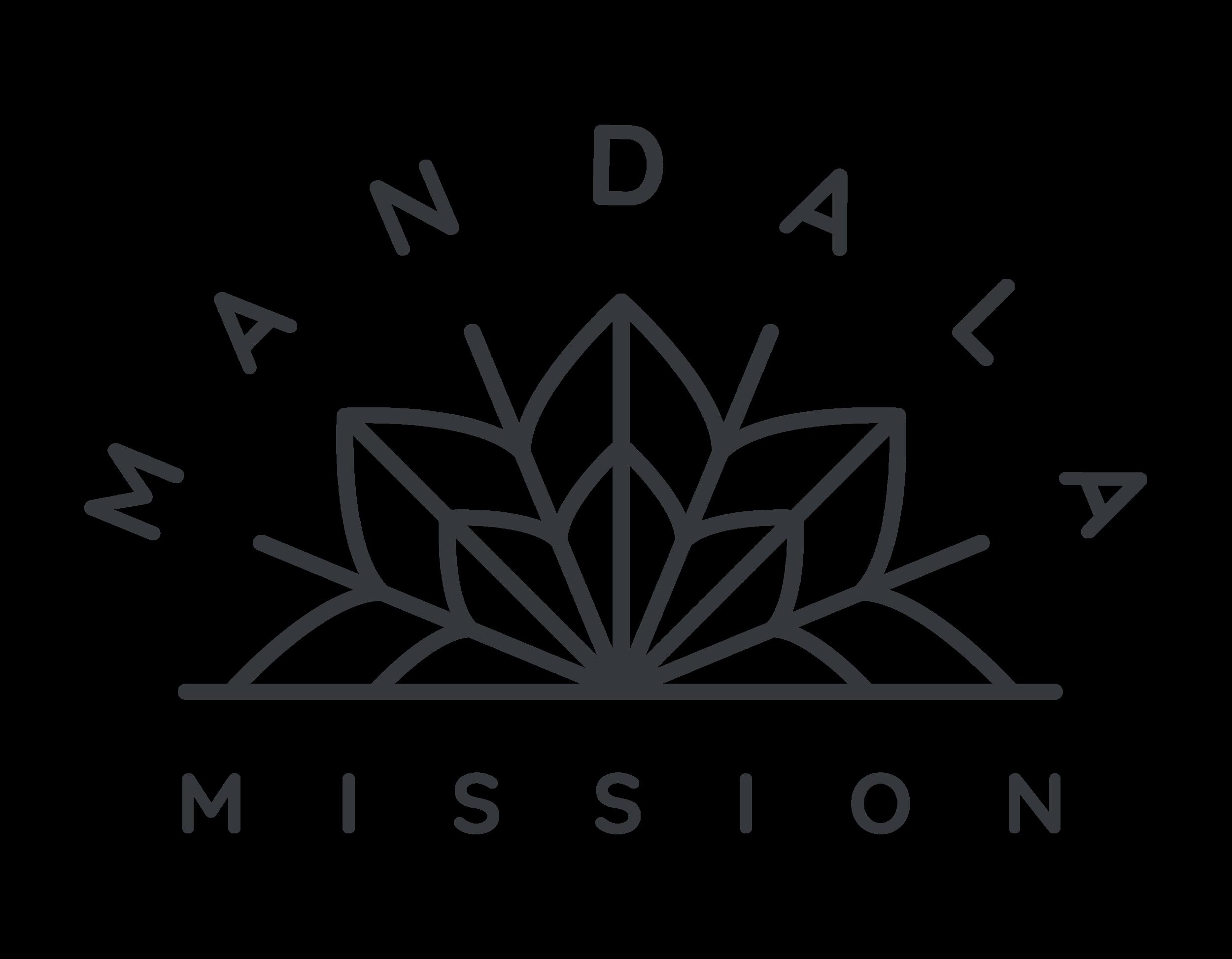 Mandala Main Logo - Blue