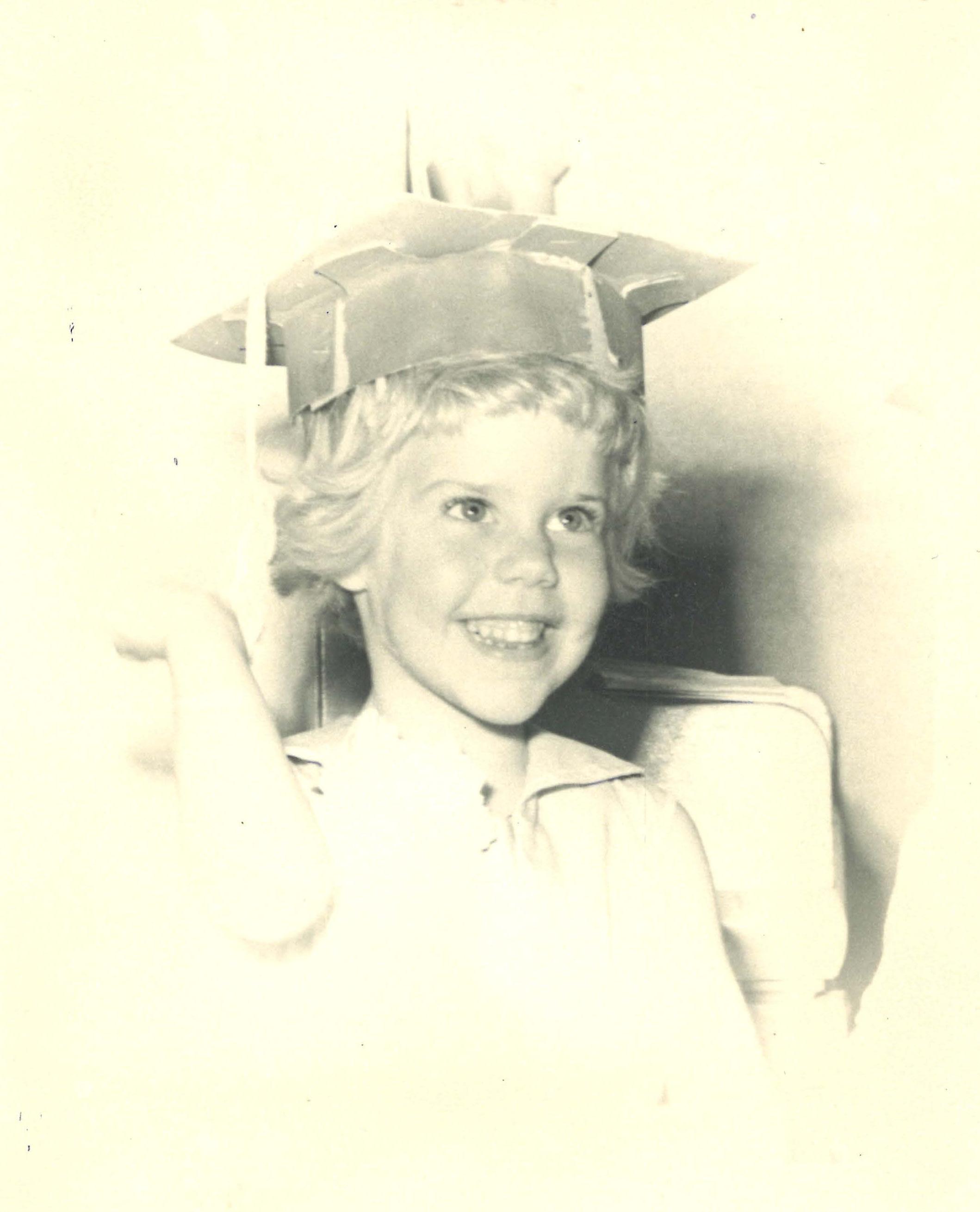Nanette as a child