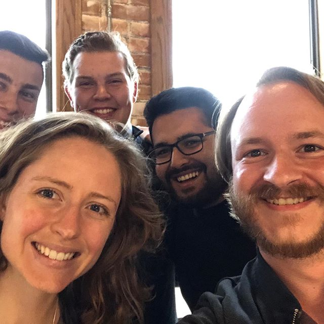 We've moved into HIVE Coworking Space for the summer! Had a great time making calls with these guys! Come join us and volunteer in our new office space for phone calls or out canvassing, most evenings from 5 to 7! Sign up to volunteer at amybronson.com.