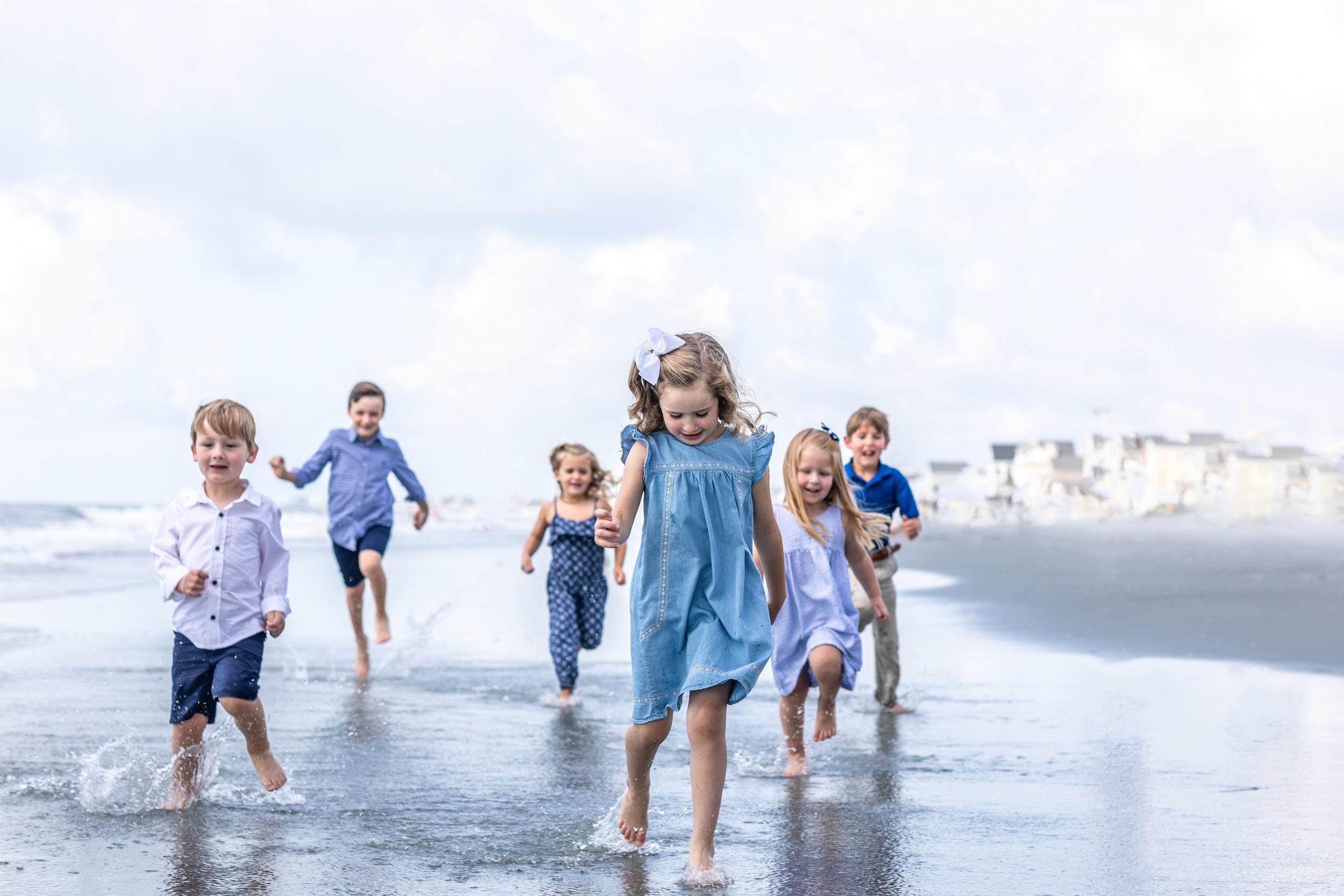 Kids Running on the Beach Beginning of Summer-1.jpg