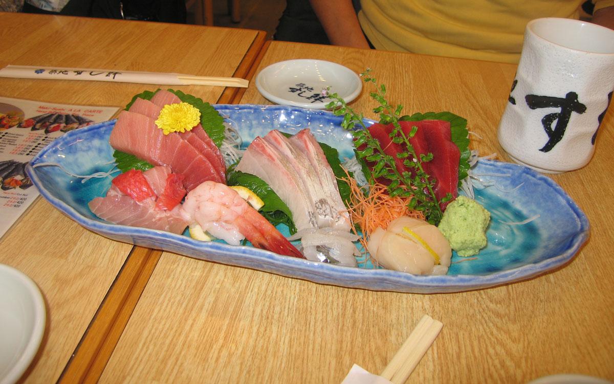 The best sashimi