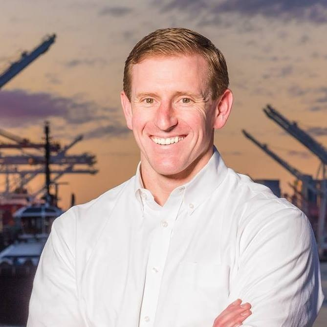 Port Commissioner Ryan Calkins