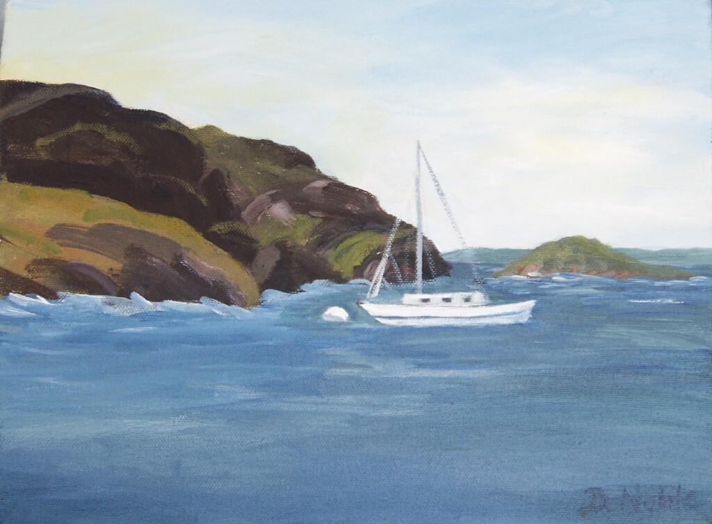Sailboat by Manana