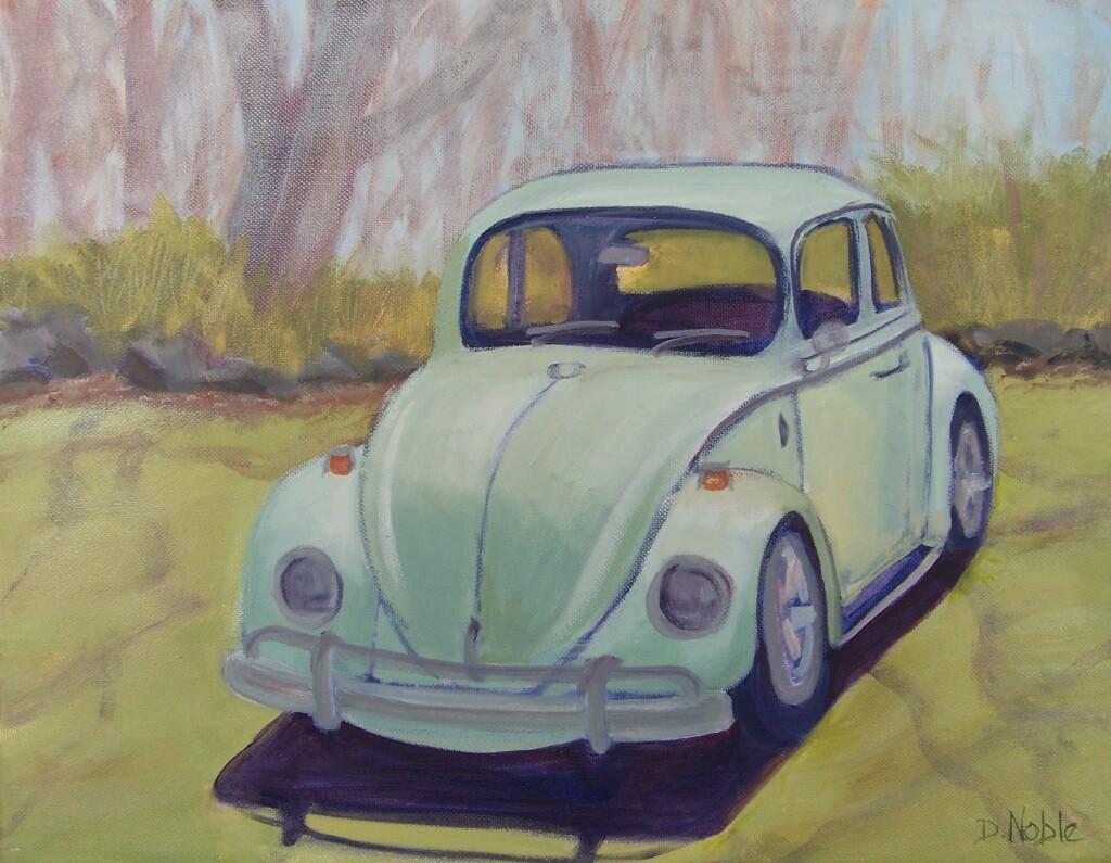 VW in Springtime