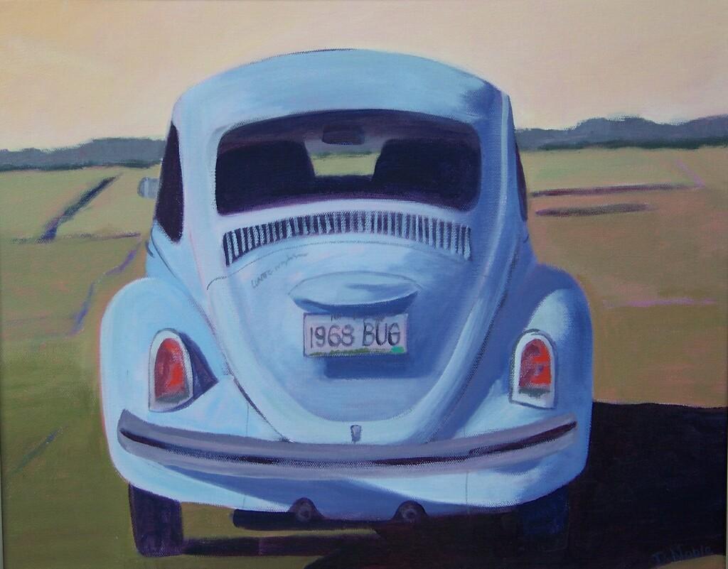 Light Blue '68 Bug