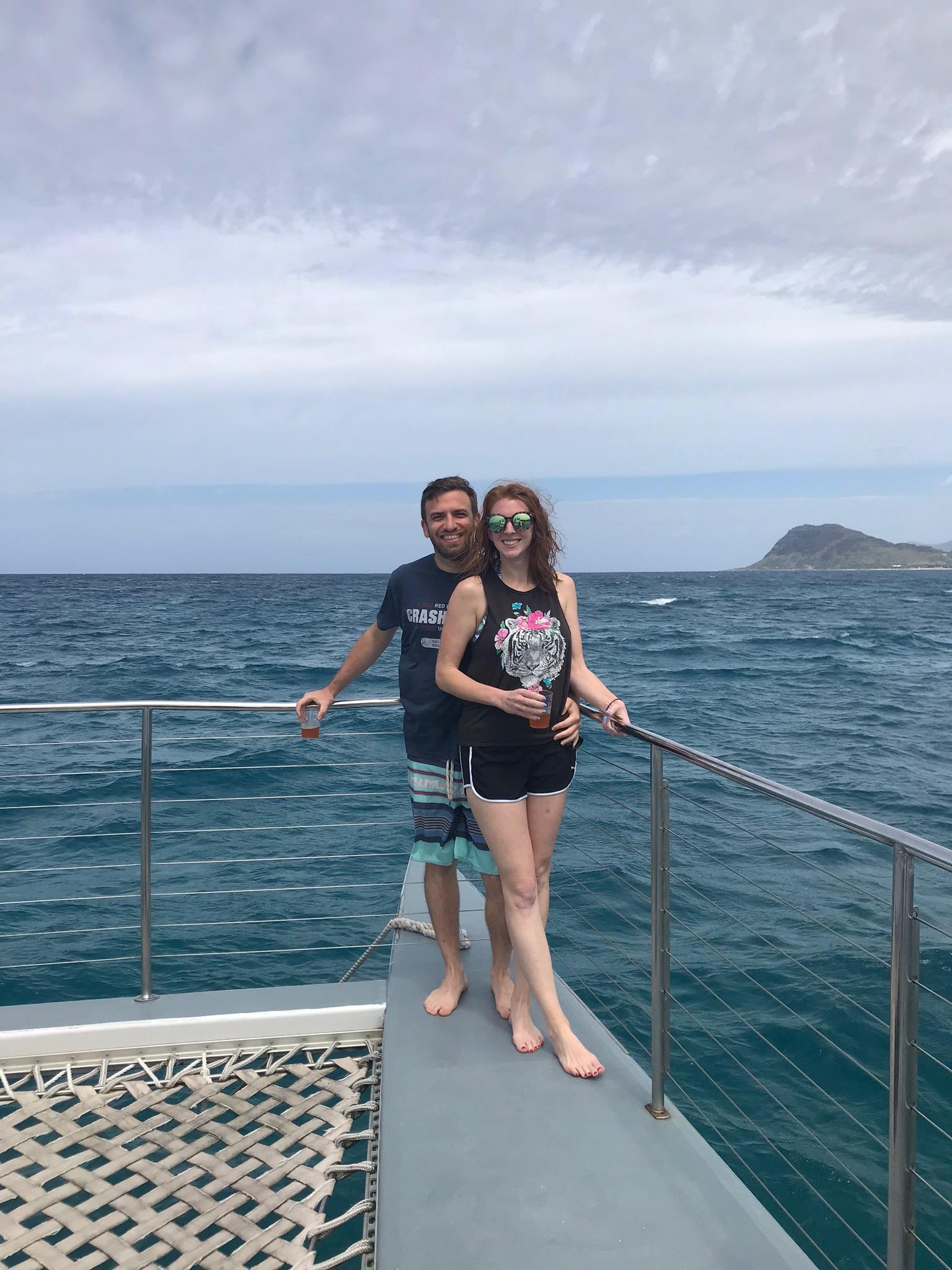 SNORKELING OFF HAWAII'S BIG ISLAND
