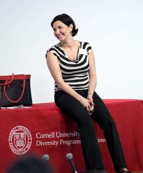 Speaking at Cornell University.