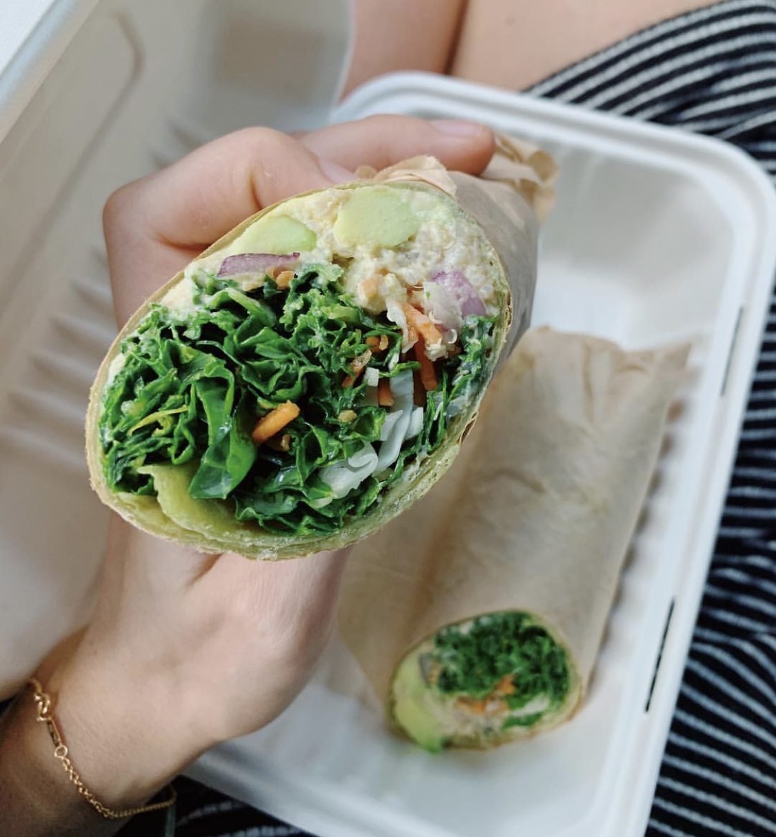 Tuna Wrap - Packed with all the fresh goods, perfect for lunch!