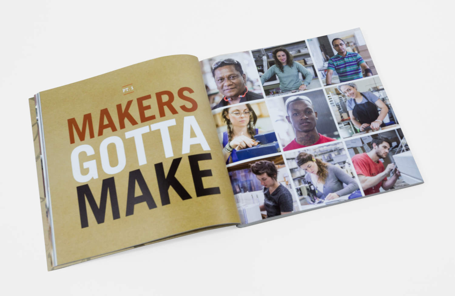"""Portland Made: The Makers of Portland's Manufacturing Renaissance""; published by Kelley Roy in 2015"