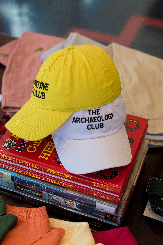 The stores' theme is set in peak of collegiate culture.