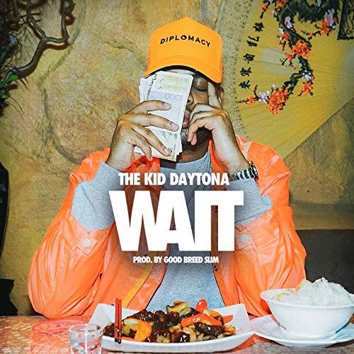 Daytona wears Diplomacy on Wait Single cover