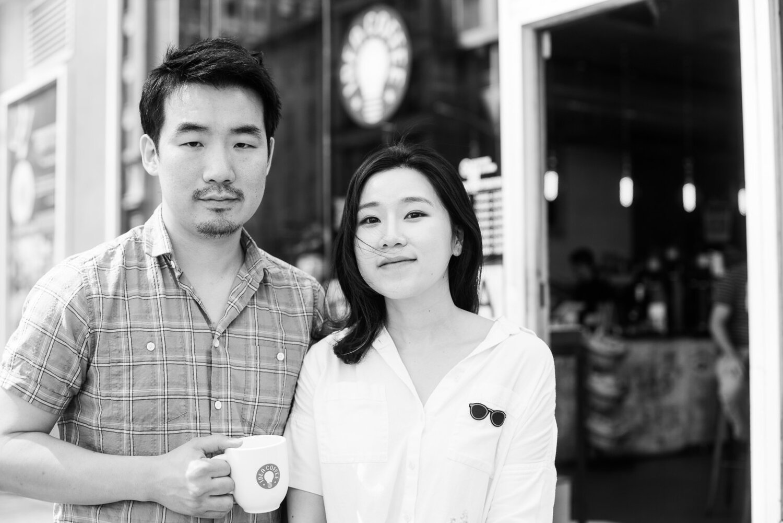 Founders Young Kim and Lindsay Rho