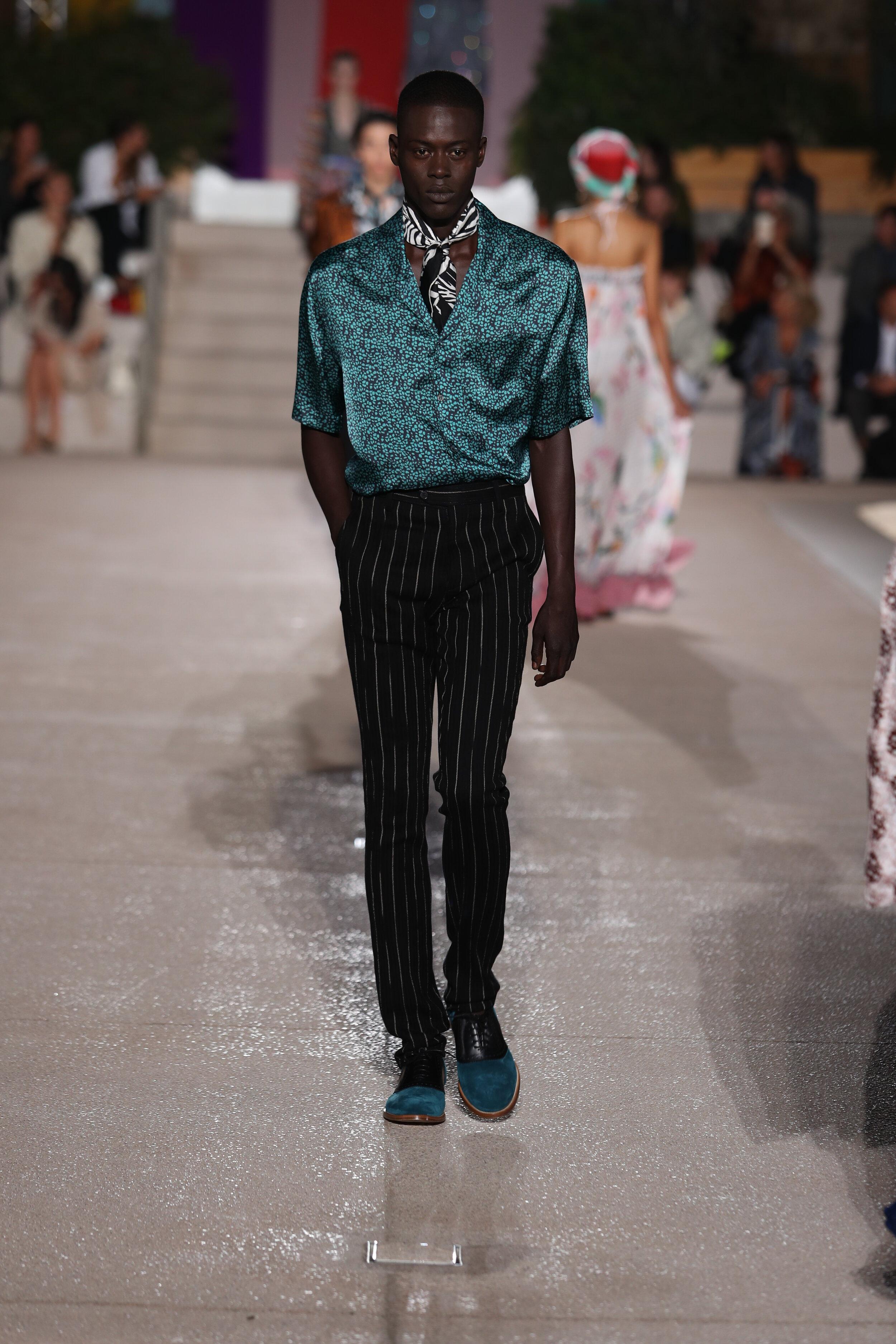 Missoni S Gender Neutral Spring Summer 2020 Runway Paris Fashion Week Page Magazine