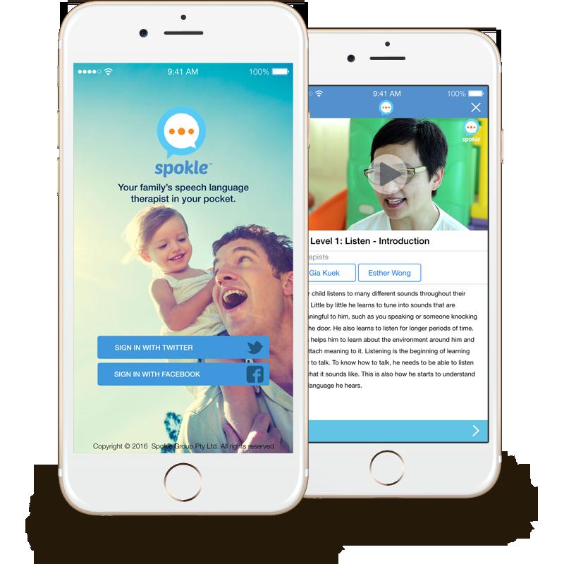 Spokle App screenshot