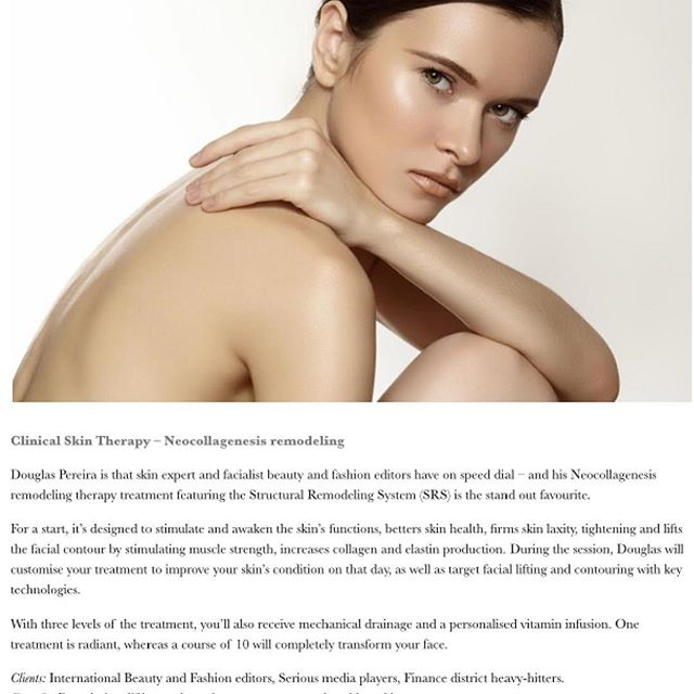 New story on @maxmade showcasing our #neocollagenesis skin lifting treatment