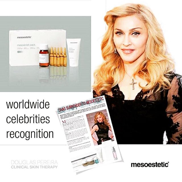 The @mesoestetic_australia #mesoeclat anti-ageing treatment is loved by @madonna. And performed @dpclinicalskintherapy. The #mesoeclat procedure is one of our most popular treatment. Combined with micro needling it delivers amazing results to reduce the signs of ageing and skin fatigue. #clinicalskintherapy #dpclinicalskintherapy #skinneedling #mesoestetic #skinhealth